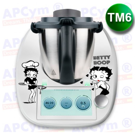 Vinilo Thermomix TM6 Betty B&N
