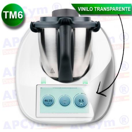 Vinilo Transparente para Thermomix TM6