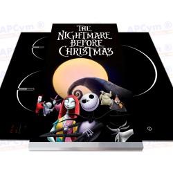 Tabla + Vinilo + Ruedas para Thermomix Pesadilla Navidad