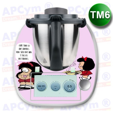 Vinilo Thermomix TM6 Mafalda