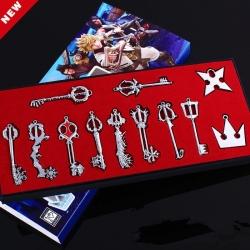 Kingdom Hearts: Kit 12 Llaves de Colección