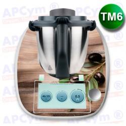 Vinilo Thermomix TM6 Aceitunas