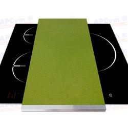 Tabla + Vinilo + Ruedas para Robots de Cocina Encimera Verde