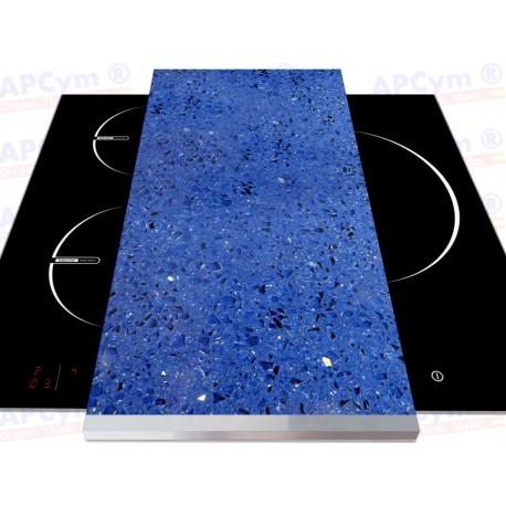 Tabla + Vinilo + Ruedas para Robots de Cocina Piedras Azules
