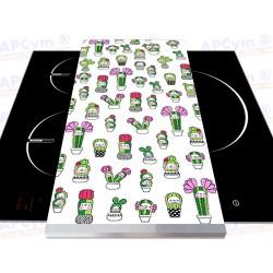 Tabla + Vinilo + Ruedas para Robots de Cocina Cactus