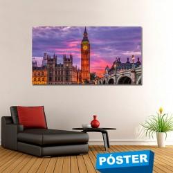 Poster con Acabado en Brillo Londres