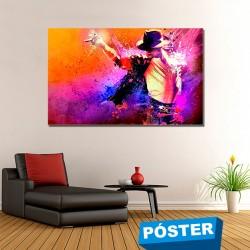 Poster con Acabado en Brillo Michael Jackson