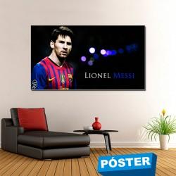 Poster con Acabado en Brillo Messi