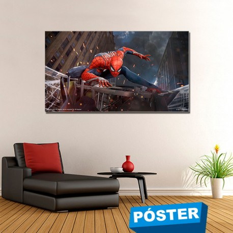 Poster con Acabado en Brillo Spiderman