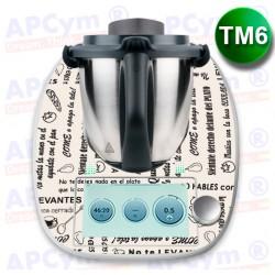 Vinilo Thermomix TM6 Modales