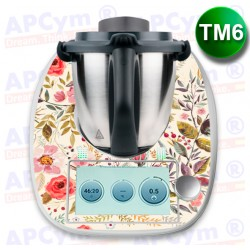 Vinilo Thermomix TM6 Classic Flowers