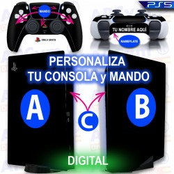 Personaliza tu Consola PS5 Edicion DIGITAL
