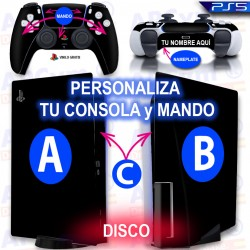 Personaliza tu Consola PS5 Edicion DISCO