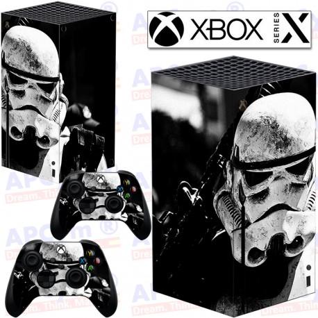 Vinilo para Xbox series X Soldado
