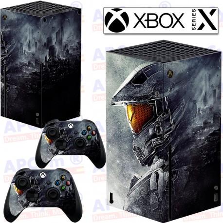 Vinilo para Xbox series X Halo