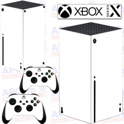 Vinilo para Xbox series X Blanca Lisa