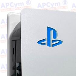Vinilo para Interior Consola Logo Sticker Underlay Azul