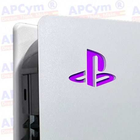 Vinilo para Interior Consola Logo Sticker Underlay Morado