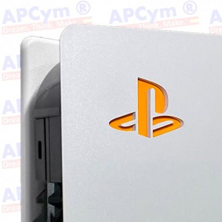 Vinilo para Interior Consola Logo Sticker Underlay Naranja