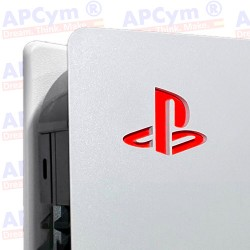 Vinilo para Interior Consola Logo Sticker Underlay Rojo