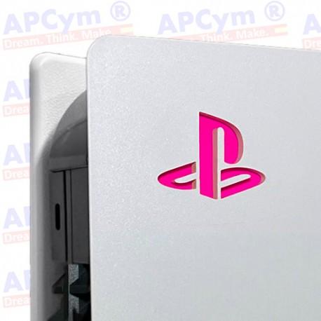 Vinilo para Interior Consola Logo Sticker Underlay Rosa