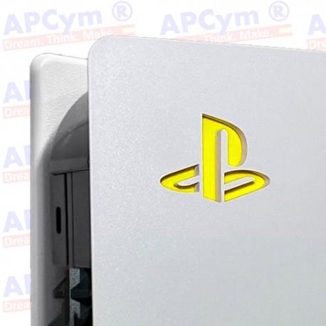 Vinilo para Interior Consola Logo Sticker Underlay Amarillo