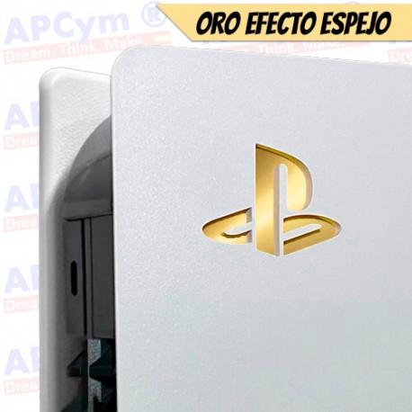 Vinilo para Interior Consola Logo Sticker Underlay Oro