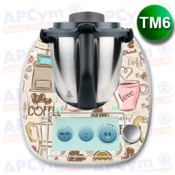 Vinilo Thermomix TM6 Coffee Hot