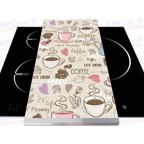 Tabla + Vinilo + Ruedas para Robots de Cocina Coffee Hot