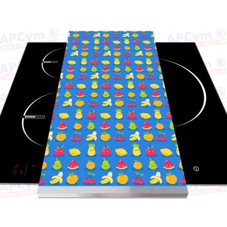 Tabla + Vinilo + Ruedas para Robots de Cocina Frutitas