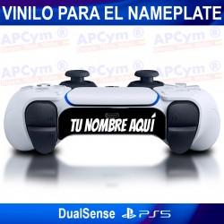 Personaliza Nameplate de tu Mando PS5 Dual Sense