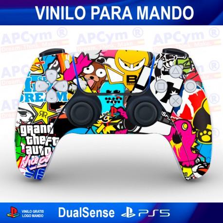 Vinilo para Mando PS5 Pegatinas