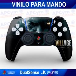 Vinilo para Mando PS5 Resident Evil Village