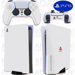 Vinilo para Consola y Mando PS5 Ultimate Retro