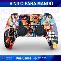 Vinilo para Mando PS5 Edición GTA V