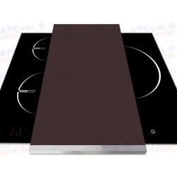 Tabla + Vinilo + Ruedas para Robots de Cocina Marron