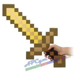 Espada Minecraft modelo oro Goma EVA
