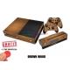Vinilo Xbox One Modelo Madera Marron