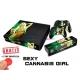 Vinilo Xbox One Modelo Marihuana