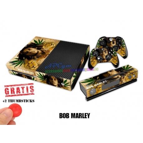 Vinilo Xbox One Modelo Bob Marley