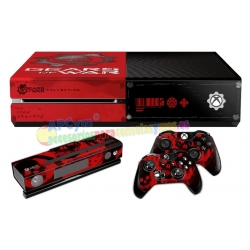 Vinilo Xbox One Modelo Gears of War
