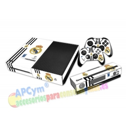 Vinilo Xbox One Modelo Real Madrid White