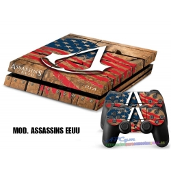 Vinilo Playstation 4 Modelo Assassins Creed EEUU