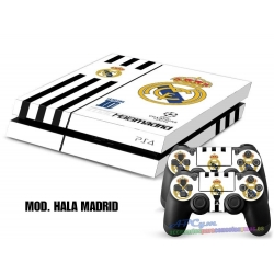 Vinilo Playstation 4 Modelo Hala Madrid