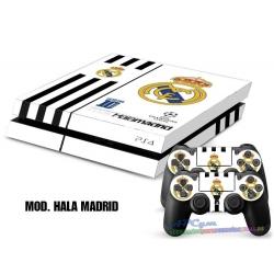 Vinilo Playstation 4 Modelo Hala Madrid