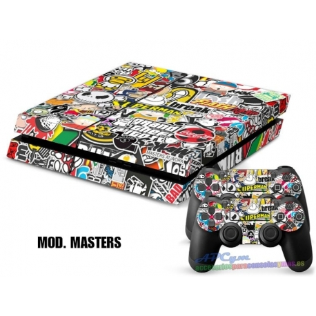 Vinilo Playstation 4 Modelo Masters At Work