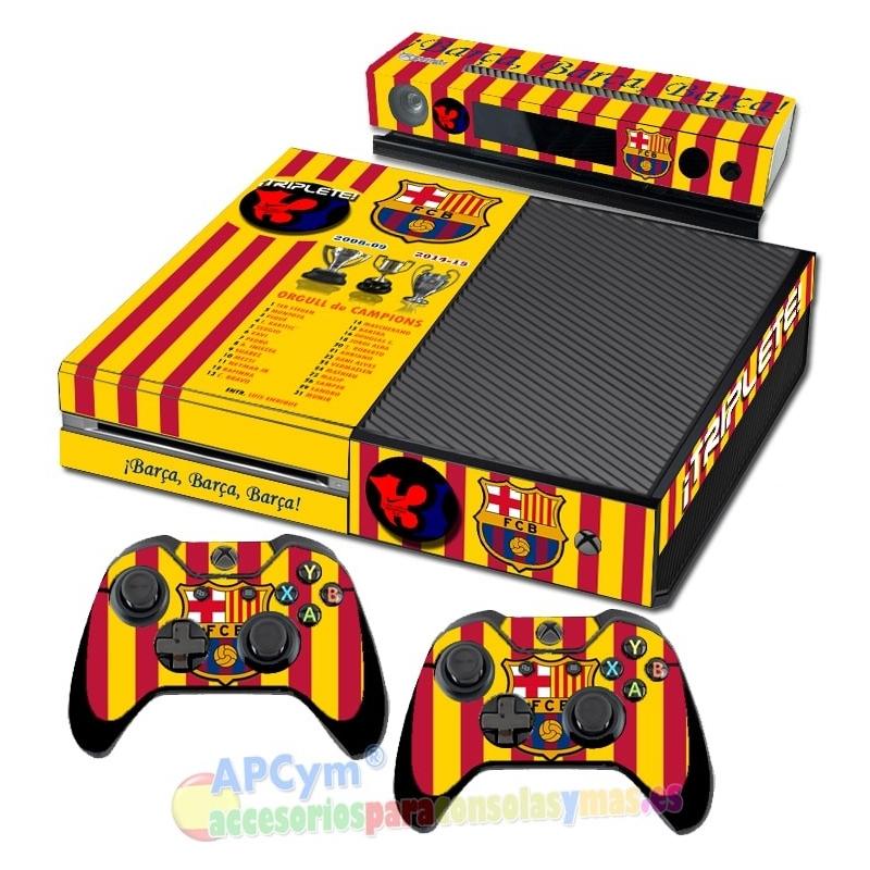 Vinilo Xbox One Barcelona Triplete - APCym - Tienda de Vinilos para ... d555ff8de4b