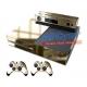 Vinilo Xbox One Modelo Oro Efecto Espejo