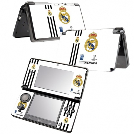 Vinilo Nintendo 3DS XL Hala Madrid