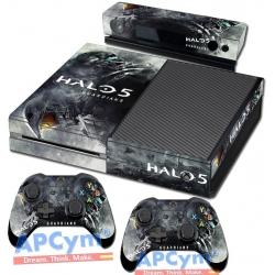 Vinilo Xbox One Modelo Halo 5